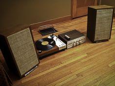 My new vintage hi-fi rig – First listen | Flickr - Photo Sharing!