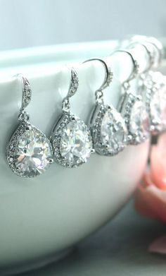 gorgeous bridesmaid jewelry!