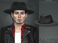Sims 4 Updates: TSR - Accessories, Headwear : Chicago hat by Mr.Alex, Custom Content Download!