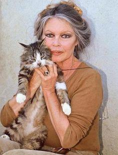 Brigette Bardot in her 70's  God Bless