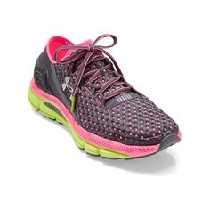 Under Armour Speedform Gemini Road-Running Shoes ($130) ❤ liked on Polyvore featuring shoes, athletic shoes, under armour footwear, under armour, running shoes, under armour shoes and under armour athletic shoes