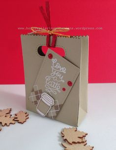 Love you a latte! Using #lawnfawn goodie bag. #cardmaking #papercrafting