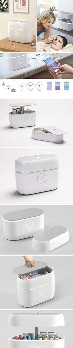 You might think that all medication is as a simple as taking a pill every morning, but many ailments or conditions require a regimented prescription process to control symptoms or even keep people alive. For them, the Smart Medical Box makes it easy and safe to store all their sensitive medications. It features two dedicated compartments: one for storing items at room temperature and the other for medicines that require refrigeration.