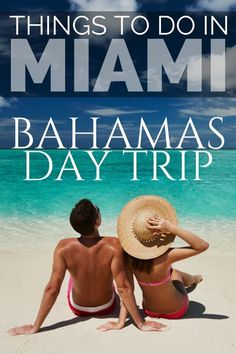 Looking for what to do in Miami? We have the 25 best things to do in Miami including a list of all the top Miami Attractions and an interactive Miami Map Bahamas Honeymoon, Bahamas Vacation, Usa Travel Guide, Travel Usa, Travel Guides, Travel Tips, Canada Travel, Travel Advice, Travel Destinations