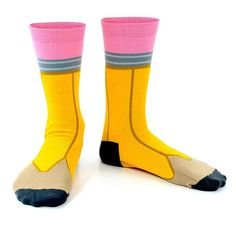 these make me giggle. Pencil socks | Design.org