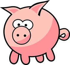 Animal, Cartoon, Farm, Farm Animal