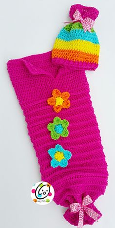 Cutie Patootie Baby Sack Set by Heidi Yates - free - Code: none needed - free Ravelry download until sale is over Until - September 6