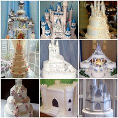 Castle wedding cakes!!!