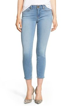 Paige Denim 'Transcend - Verdugo' Crop Skinny Jeans (Abel)