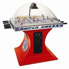 Super Chexx® Bubble Hockey  .....I Want One, I Want One!!! :)    LA Kings VS Chicago Blackhawks
