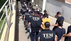 Gaziantep'te terör operasyonunda 17 kişi tutuklandı