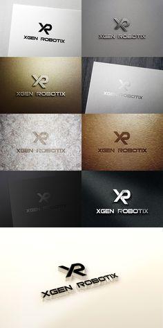 Logo Design from Xgen Robotix contest