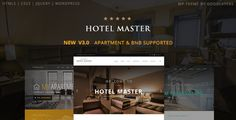 Hotel Master – Hotel, Hostel, Apartment Booking WordPress Theme is the best hotel, hostel, resort, apartment, b&b room reservation WordPress theme.  It comes with the best room booking system. ...