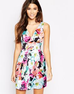 Overscale Floral Print