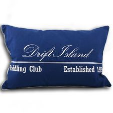 Blue nautical cushion | eBay