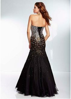 Charming Mermaid Prom Dress#promdress