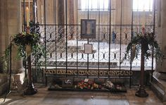 Grave Marker- Katherine of Aragon final resting place from the commemorative events at Peterborough Cathedral