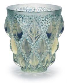 René Lalique Aras Vase, c. 1930