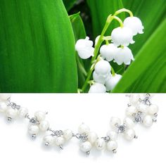 Lily of the Valley Pearls #weddingjewellery