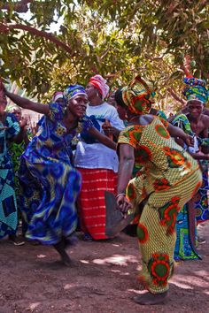 The Gambia; Images from a Kumpo tribal dance - Mallory on TravelMallory On Travel