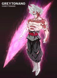 Goku Black Migatte No Gokiu V2 by Greytonano