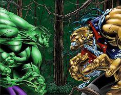 Hulk vs. Pitt - Dale Keown