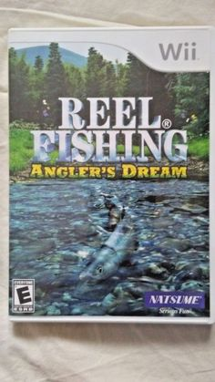 Nintendo Wii Reel Fishing Angler's Dream Video Game 2009 Multiplayer No Manual #Nintendo