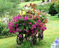 Carreta jardinera