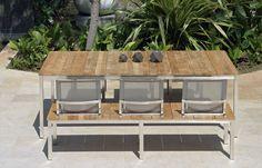 Loom-Lounge-Sofa Deauville für den Outdoorbereich gibt es als 2er ...