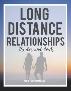 long distance open relationship