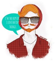 #hipster #draw #illustration