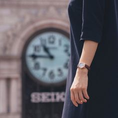 """""""Watches are so named as a reminder — if you don't watch carefully what you do with your time, it will slip away from you."""" - Terri Guillemets    Repost: @seiko"""