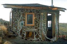 cordwood+building