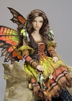 Beautiful doll:  Topaz Fairy Variation - Gallery 2013 - Antique Lilac