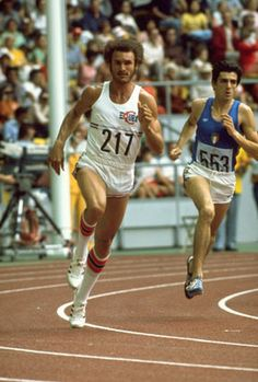 1976 Montreal.  Cuban Alberto Juantorena becomes the first man to win the 400m - 800m double in the same Games