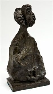 Caballero de la mano en el pecho by Pablo Serrano