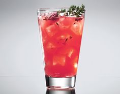 Raspberry-Thyme Smash Recipe: Bon Appétit
