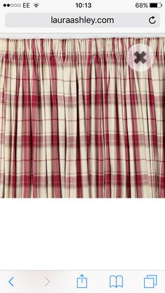 Kinross Cranberry Check Pillowcase