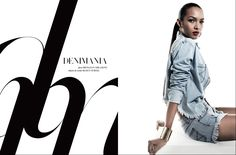 Style Pantry | Classic Denim Editorial In Harper's Bazaar Jan