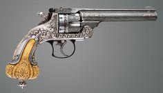 Smith & Wesson Presentation and Exhibition Frontier Tiffany & Co. Revolver