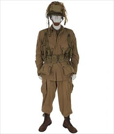 American D-Day Paratrooper  WWII