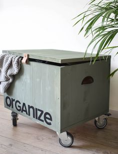 Maak je eigen kist op wieltjes in 6 eenvoudige stappen | Make your own box on wheels in 6 simple steps | KARWEI 11-2017