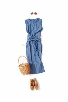 Twilight dress at the end of summer / Coordinate details / Kyoko Kikuchi's Closet Mature Fashion, Daily Fashion, Everyday Fashion, Curvy Fashion, Chic Outfits, Summer Outfits, Fashion Outfits, Womens Fashion, Fashion Tips
