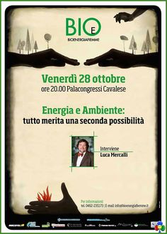 Energia e Ambiente, serata con Luca Mercalli a Cavalese
