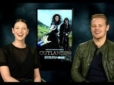Hilarious Outlander Interview!! Caitriona Balfe & Sam Heughan on Game of...