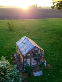 My greenhouse has taught me to bask in the sunshine that always follows a storm.