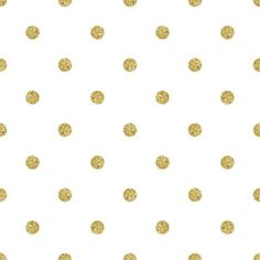 Papel de Parede Adesivo Poá Dourado