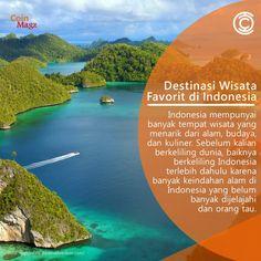 Dimana Sih Destinasi-destinasi Favorit di Indonesia?