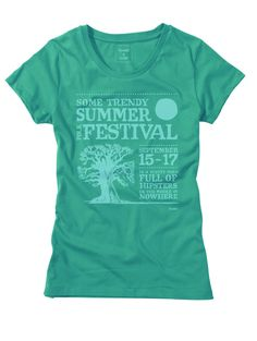 howies - Festival - Ladies Organic Cotton T-Shirt - £25