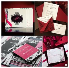 Our Laurel Booklet Invitation was featured on a popular French Wedding Blog - If you can read French check it out! :)